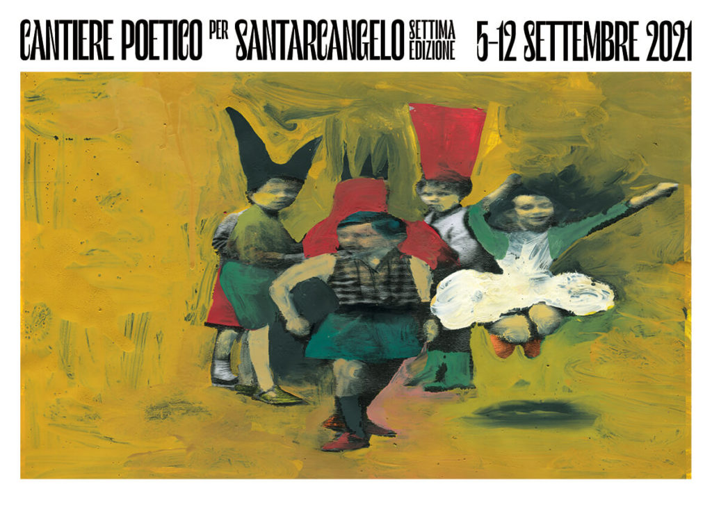 Cantiere poetico per Santarcangelo 2021 / copertina programma